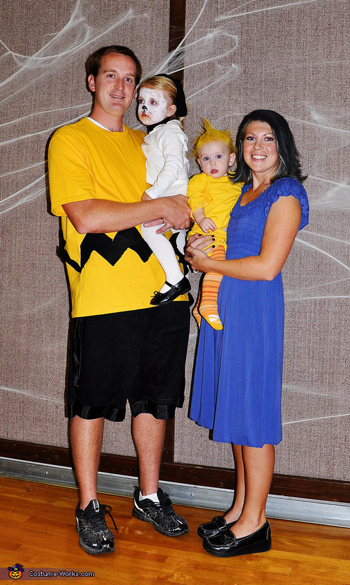 Best ideas about Woodstock Costume DIY . Save or Pin Charlie Brown Characters Family Costume Now.