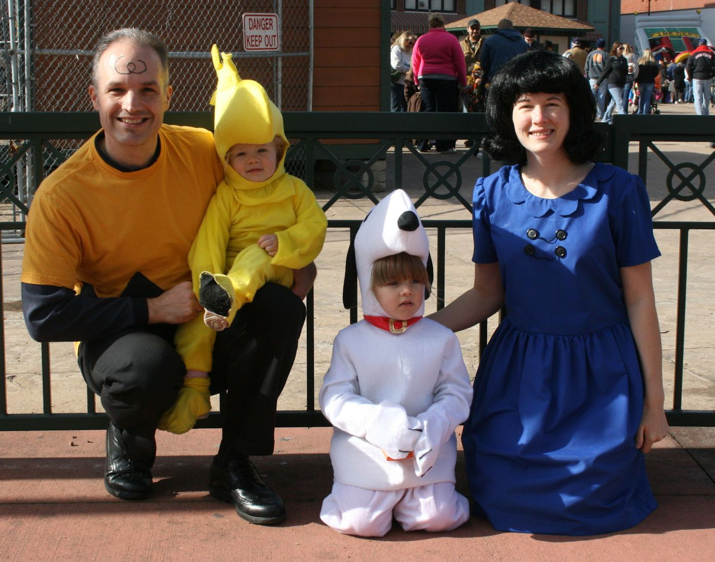 Best ideas about Woodstock Costume DIY . Save or Pin Our Charlie Brown Lucy Snoopy and Woodstock family Now.