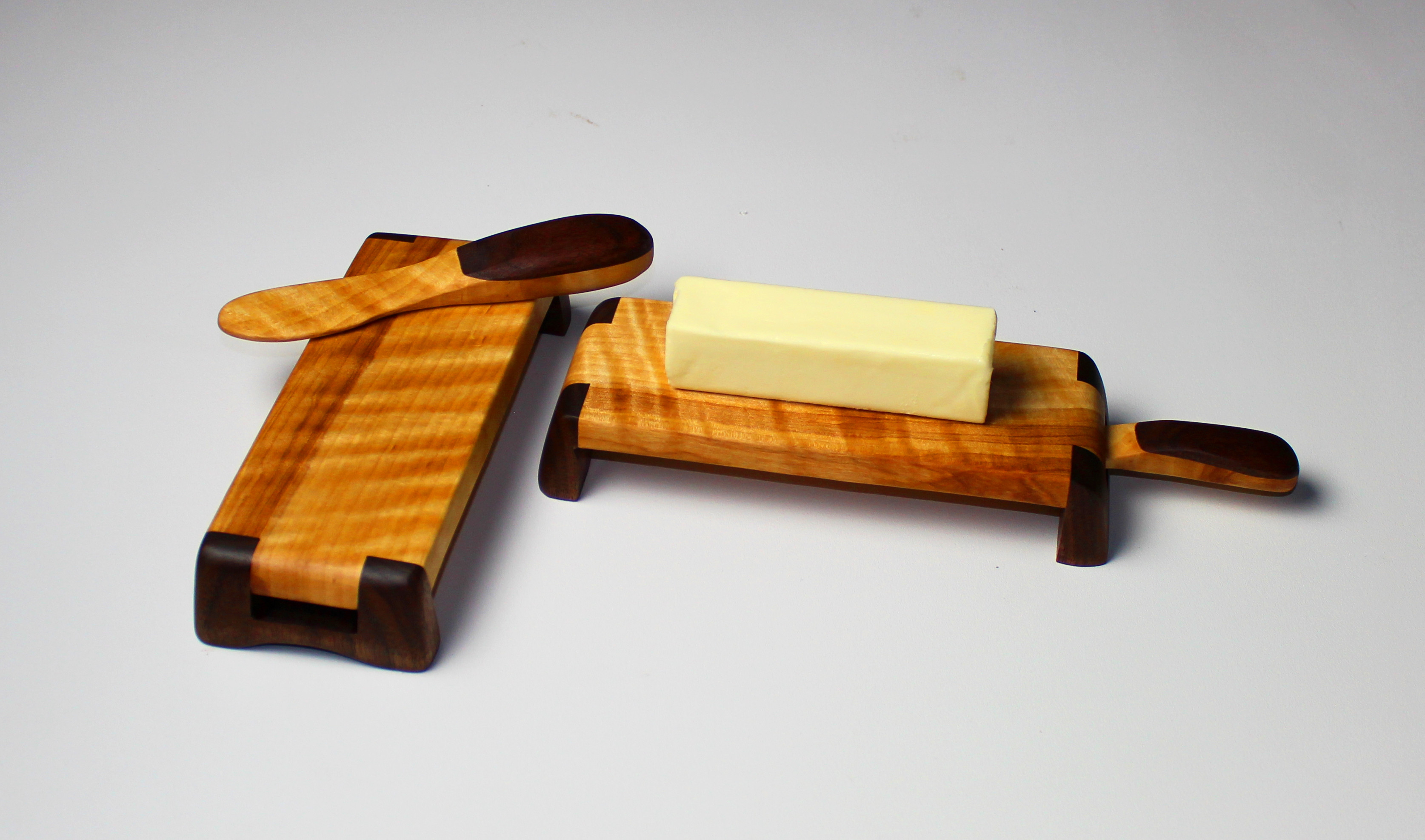 Best ideas about Woodworker Gift Ideas . Save or Pin DIY Butter Dish and Spreader Set Now.