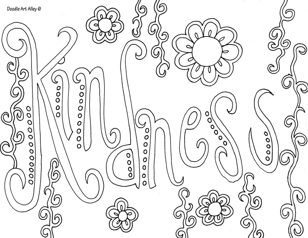 Best ideas about Word Coloring Pages For Kids . Save or Pin Word Coloring pages Doodle Art Alley Now.