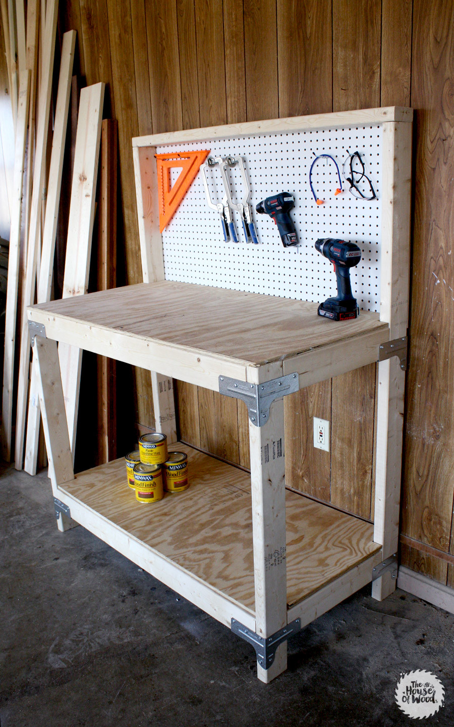 Best ideas about Work Bench DIY . Save or Pin DIY Workbench with Simpson Strong Tie Workbench Kit Now.