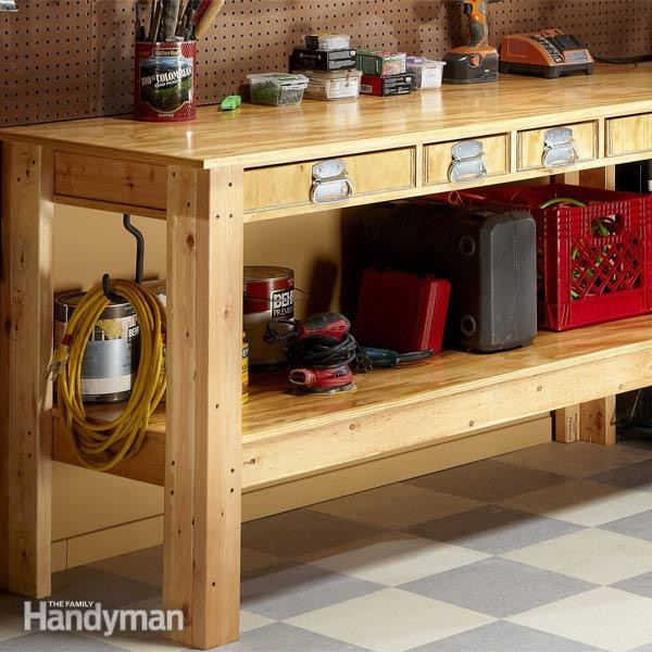 Best ideas about Work Bench DIY . Save or Pin Simple Workbench Plans Now.