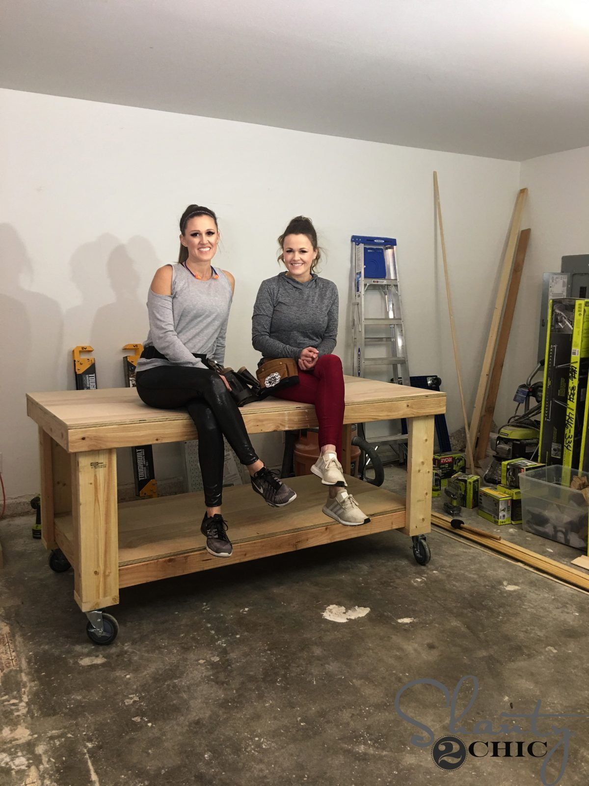Best ideas about Work Bench DIY . Save or Pin DIY Workbench Shanty 2 Chic Now.