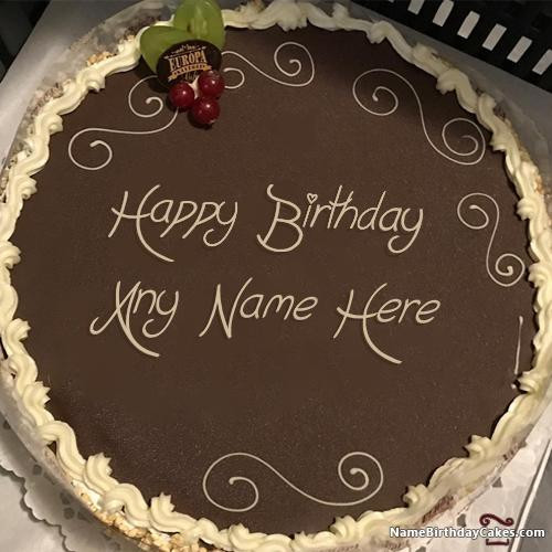 Best ideas about Write Name On Birthday Cake . Save or Pin Write Name Birthday Cake 500  Now.