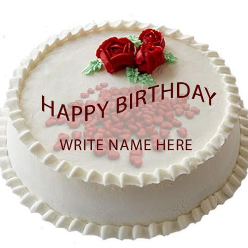Best ideas about Write Name On Birthday Cake . Save or Pin Write Name Football Happy Birthday Cake Now.
