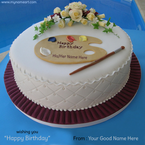Best ideas about Write Name On Birthday Cake . Save or Pin Write Name Birthday Cake Image With His Her Name Now.