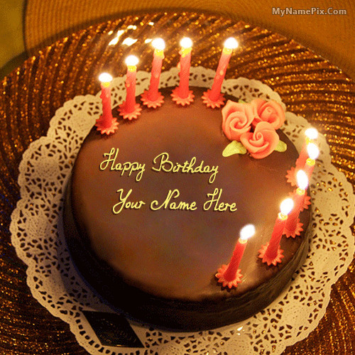 Best ideas about Write On Birthday Cake . Save or Pin write name on Birthday Cake for Husband picture Now.