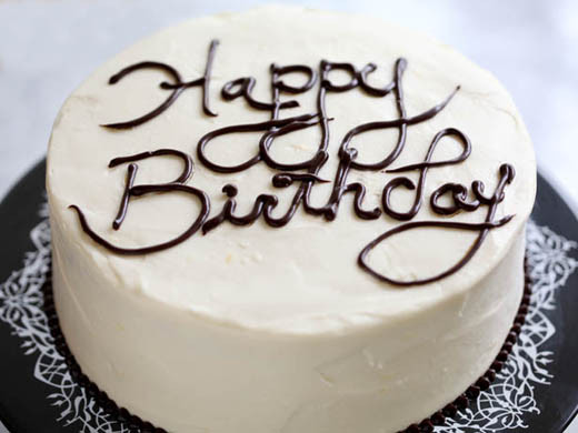 Best ideas about Write On Birthday Cake . Save or Pin How to Write on a Cake video on folding parchment pastry Now.
