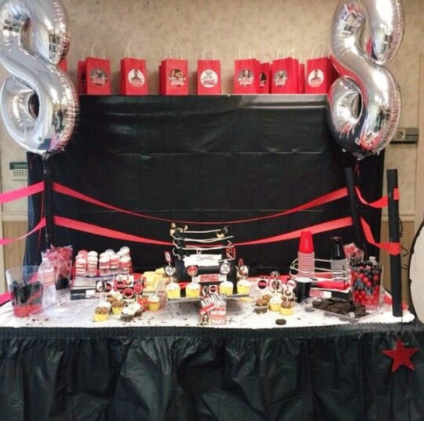 Best ideas about Wwe Birthday Decorations . Save or Pin 20 Cool WWE Birthday Party Ideas Buzz 2018 Now.