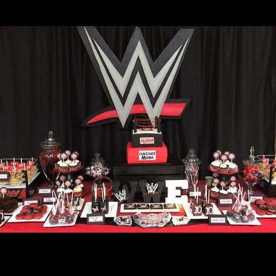 Best ideas about Wwe Birthday Decorations . Save or Pin 17 Wild WWE Birthday Party Ideas Spaceships and Laser Beams Now.
