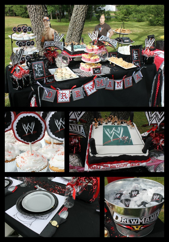 Best ideas about Wwe Birthday Decorations . Save or Pin DREWMANIA 5 Now.