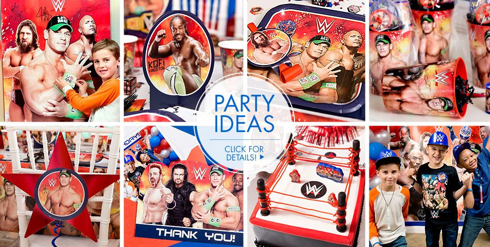 Best ideas about Wwe Birthday Decorations . Save or Pin WWE Party Supplies WWE Birthday Now.