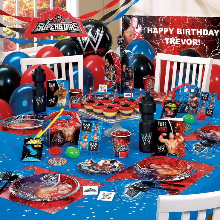 Best ideas about Wwe Birthday Decorations . Save or Pin 81 best WWE Party Ideas images on Pinterest Now.