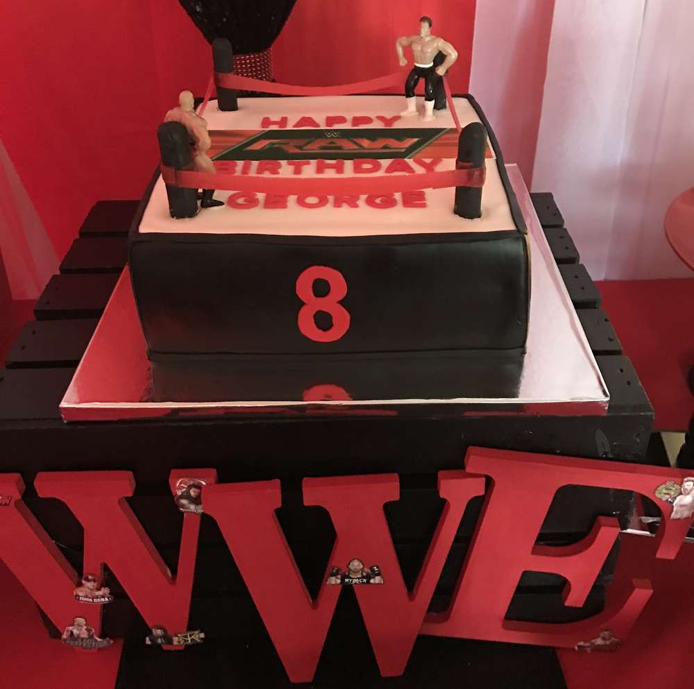 Best ideas about Wwe Birthday Decorations . Save or Pin 8 Year Old's WWE Theme Birthday Party – VenueMonk Blog Now.