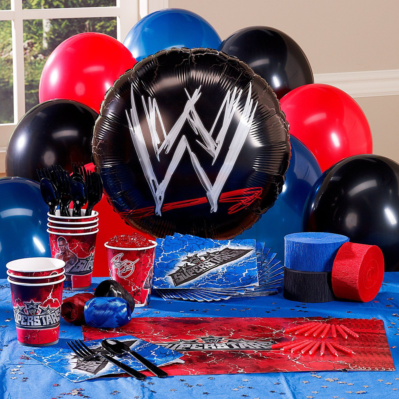 Best ideas about Wwe Birthday Decorations . Save or Pin WWE Personalized Party Theme Now.