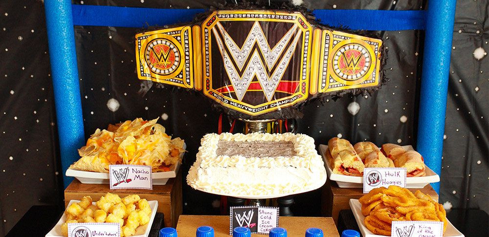 Best ideas about Wwe Birthday Decorations . Save or Pin WWE Wrestling Party Ideas Now.