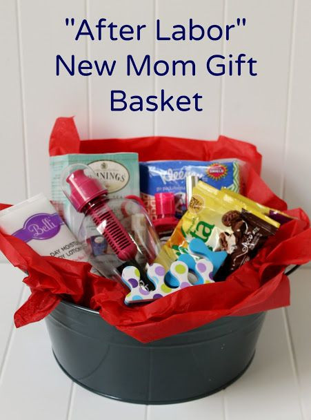 Best ideas about Www Ideas For A Gift For Family For New Baby . Save or Pin Create a DIY New Mom Gift Basket for After Labor Now.