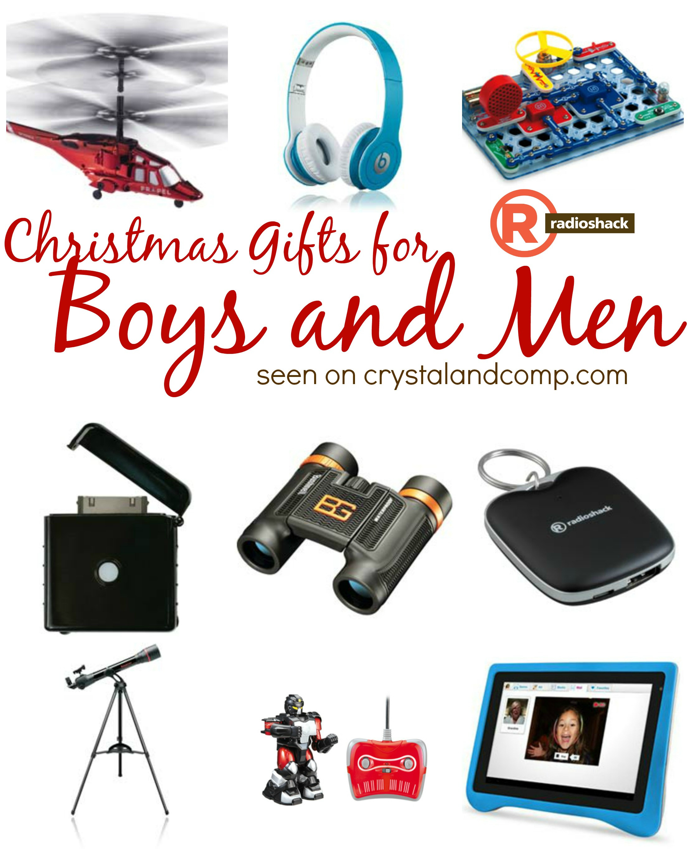 Best ideas about Xmas Gift Ideas For Boys . Save or Pin Christmas Gifts for Boys and Men RadioShack Now.