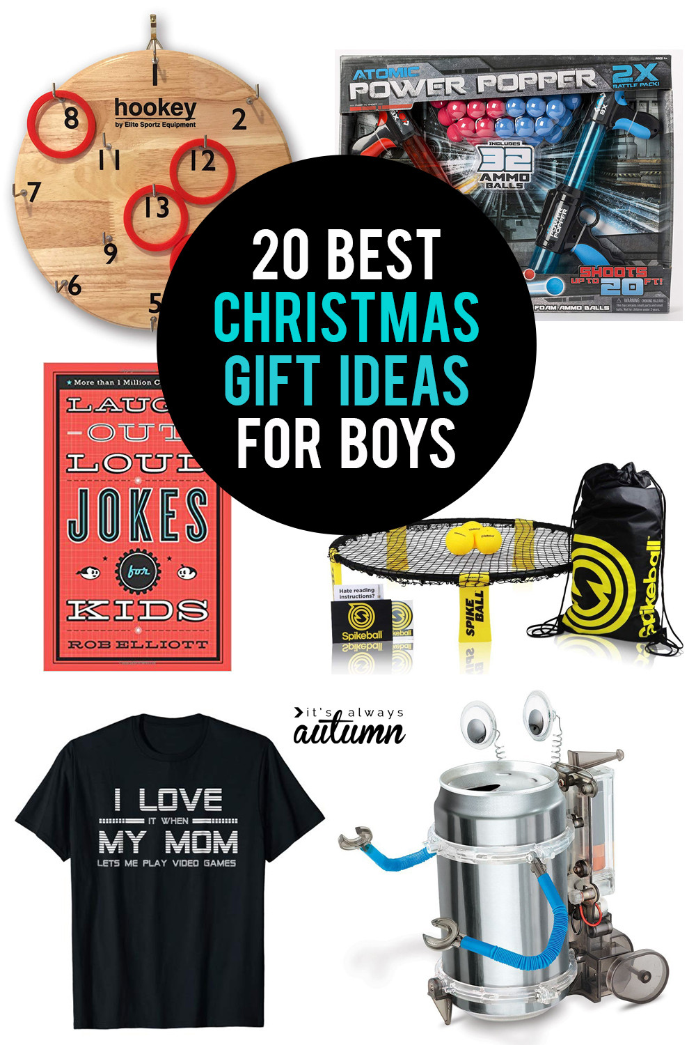 Best ideas about Xmas Gift Ideas For Boys . Save or Pin The 20 BEST Christmas ts for boys It s Always Autumn Now.