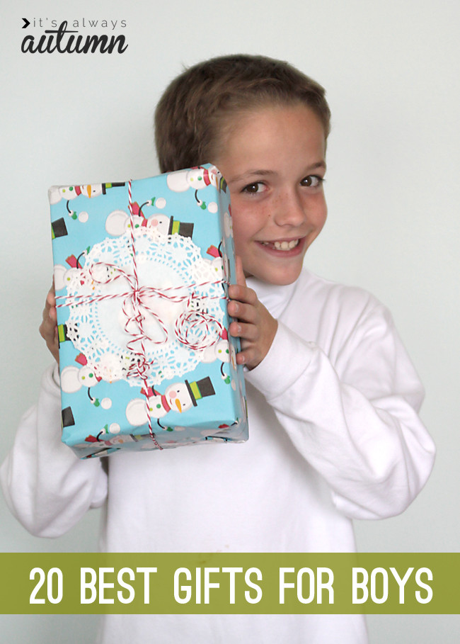 Best ideas about Xmas Gift Ideas For Boys . Save or Pin 20 best Christmas t ideas for boys It s Always Autumn Now.