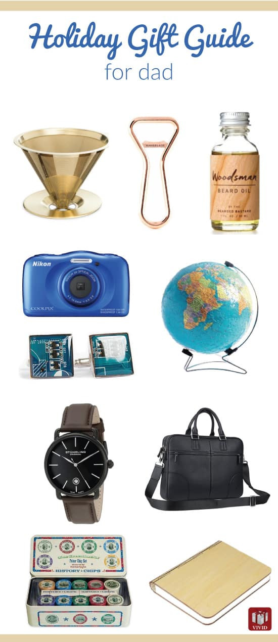 Best ideas about Xmas Gift Ideas For Dad . Save or Pin Christmas Holiday Gift Guide for Dad Vivid s Gift Ideas Now.