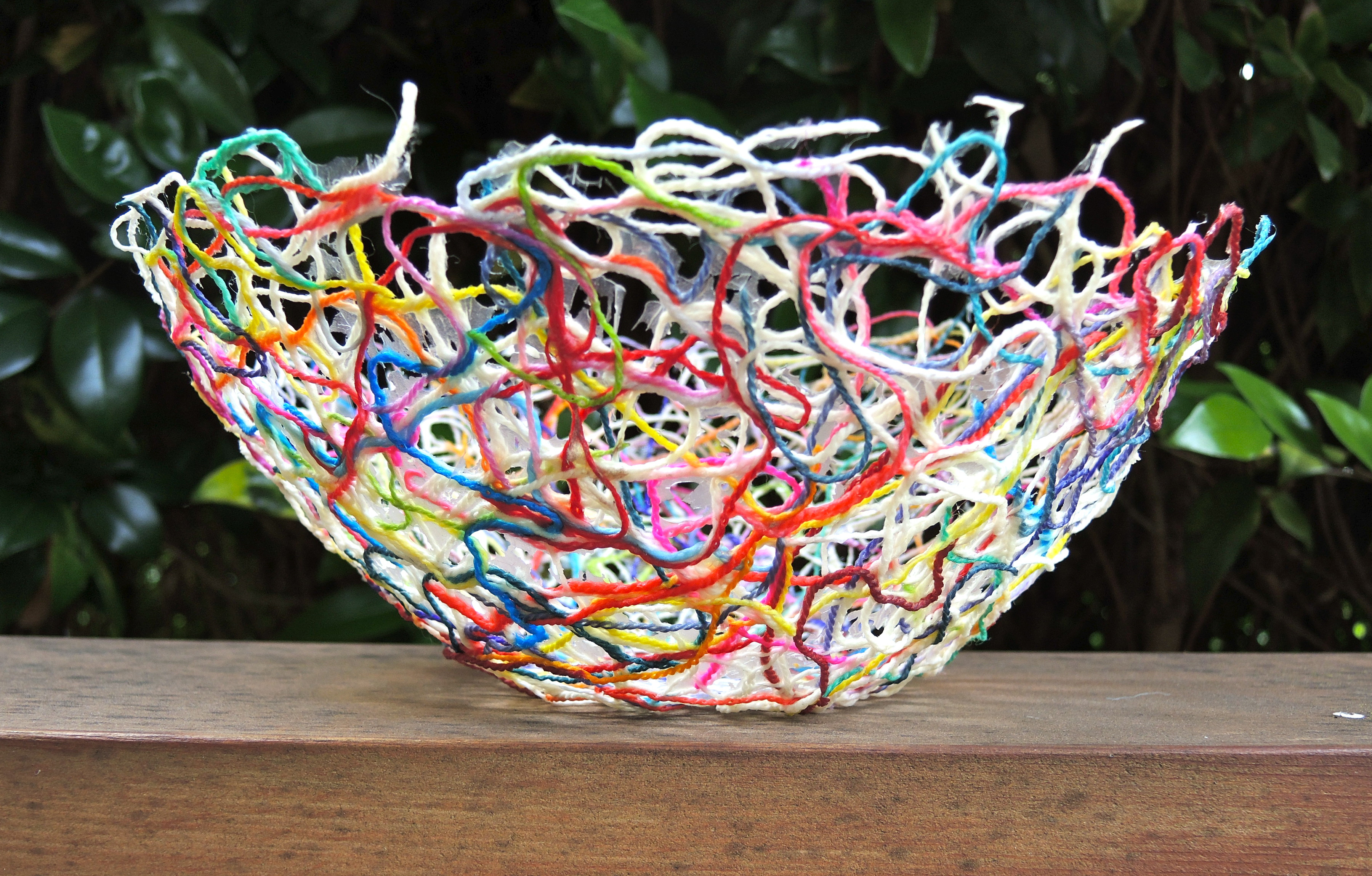Best ideas about Yarn Bowl DIY . Save or Pin How To Make DIY Balloon Bowls For Easter Decorations Now.