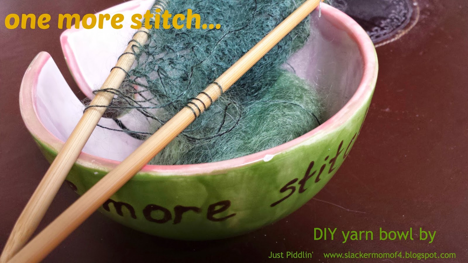 Best ideas about Yarn Bowl DIY . Save or Pin just piddlin WIP DIY Yarn Bowl Now.