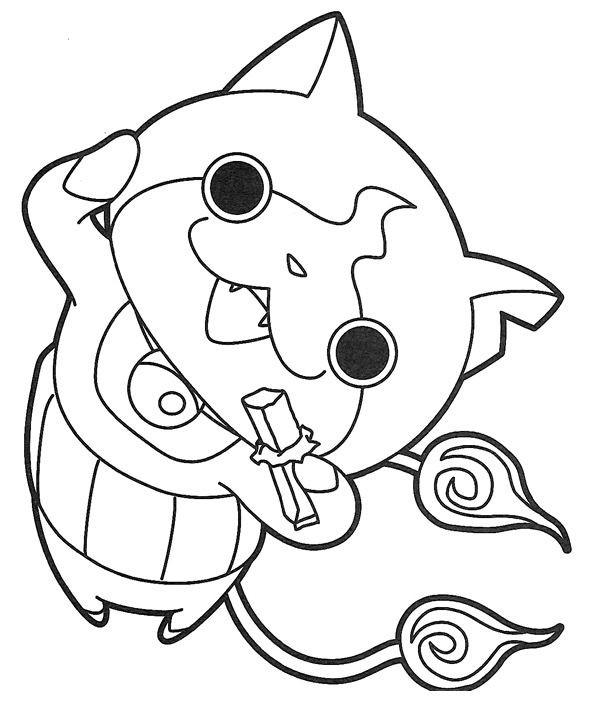 Best ideas about Yo Kai Printable Coloring Pages . Save or Pin Coloriage Yo Kaï Watch gratuit à imprimer yokaiwatch Now.