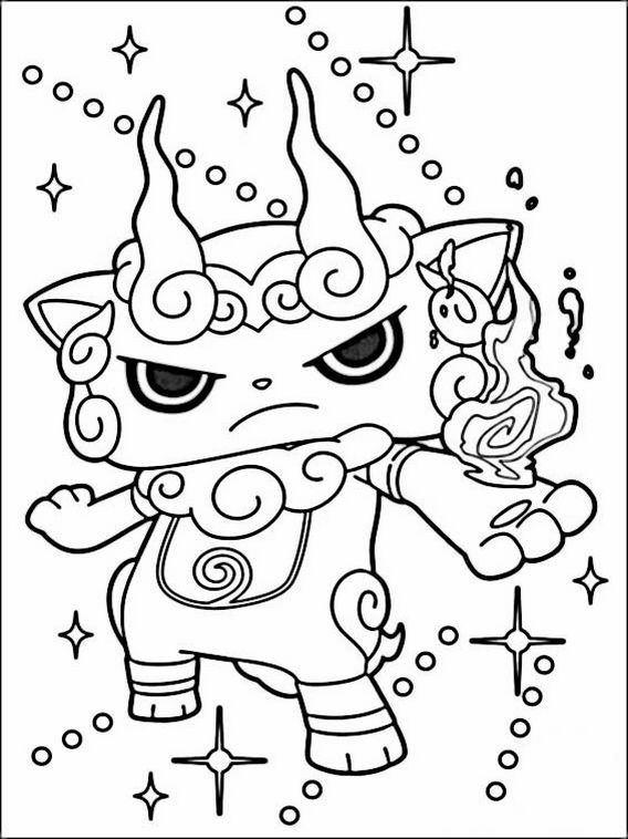 Best ideas about Yo Kai Printable Coloring Pages . Save or Pin Yo kai Watch Coloring Pages 2 Now.