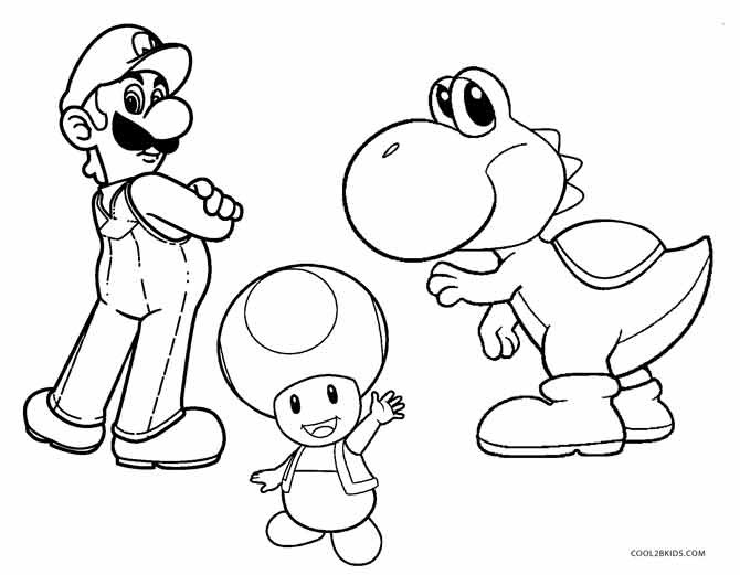 Best ideas about Yoshi Coloring Pages For Kids . Save or Pin Printable Yoshi Coloring Pages For Kids Now.