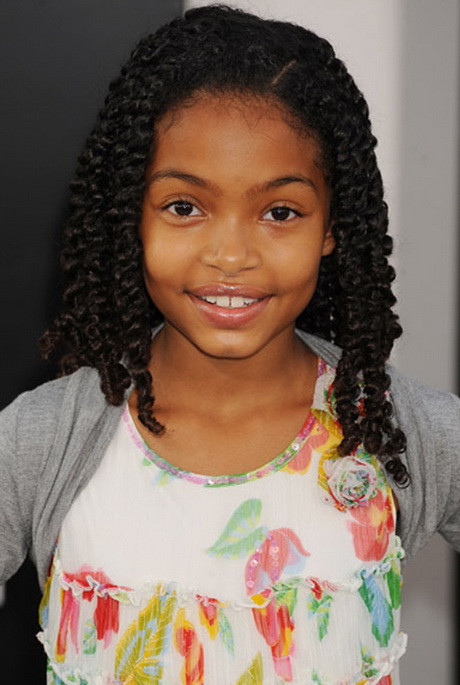 Best ideas about Young Black Girl Hairstyles . Save or Pin Black girls hairstyles for school Now.