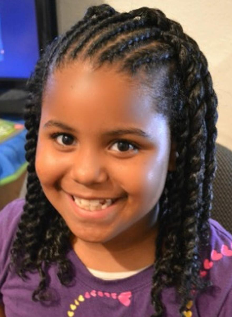 Best ideas about Young Black Girl Hairstyles . Save or Pin 25 Latest Cute Hairstyles for Black Little Girls Now.