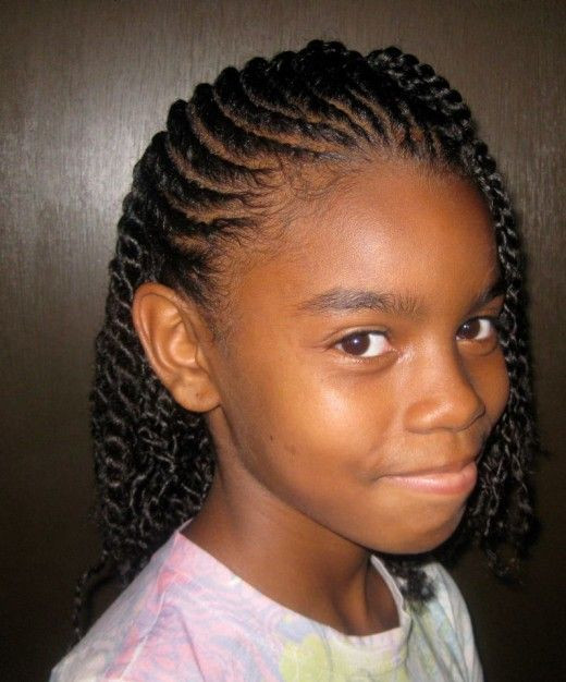 Best ideas about Young Black Girl Hairstyles . Save or Pin Braided hairstyles for young black girls Now.