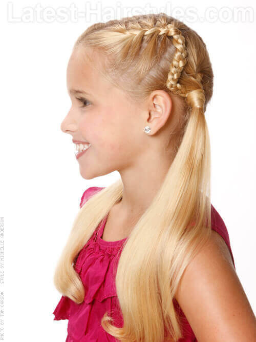 Best ideas about Young Girls Hairstyle . Save or Pin 32 Adorable Hairstyles for Little Girls Now.