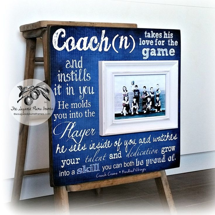 Best ideas about Youth Football Gift Ideas . Save or Pin Best 25 Football coach ts ideas on Pinterest Now.