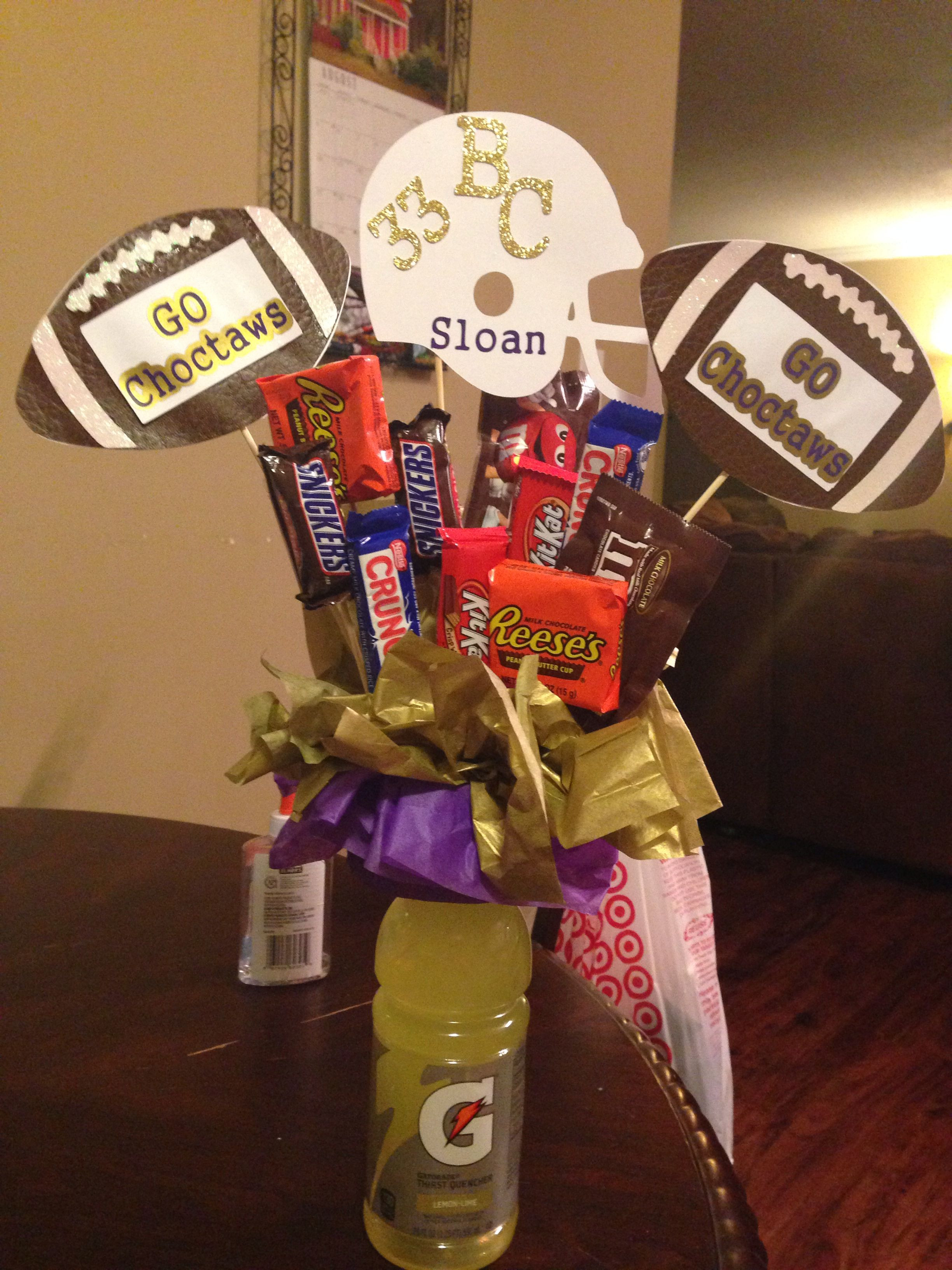 Best ideas about Youth Football Gift Ideas . Save or Pin Good luck Football t Football Now.