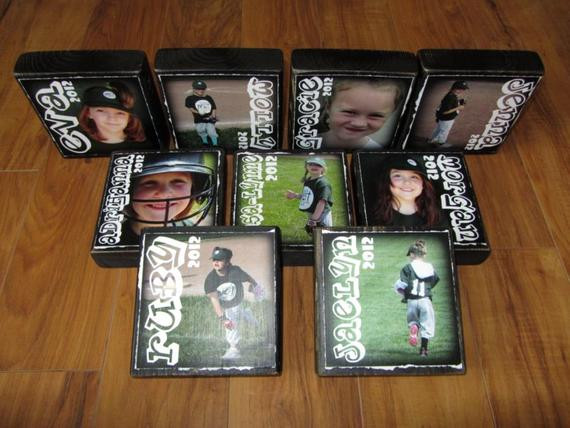 Best ideas about Youth Football Gift Ideas . Save or Pin Personalized LaRGER Blocks set of 9 Letter Blocks for Now.