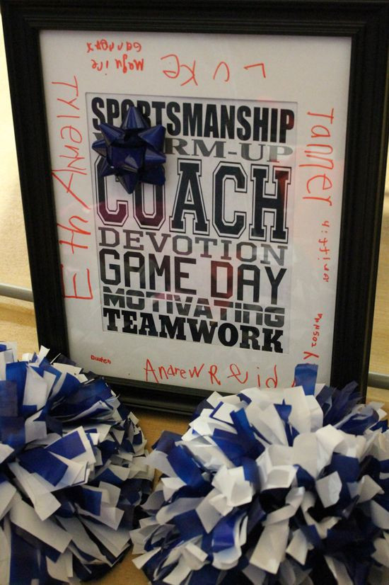 Best ideas about Youth Football Gift Ideas . Save or Pin 22 best Coach Gift Ideas images on Pinterest Now.