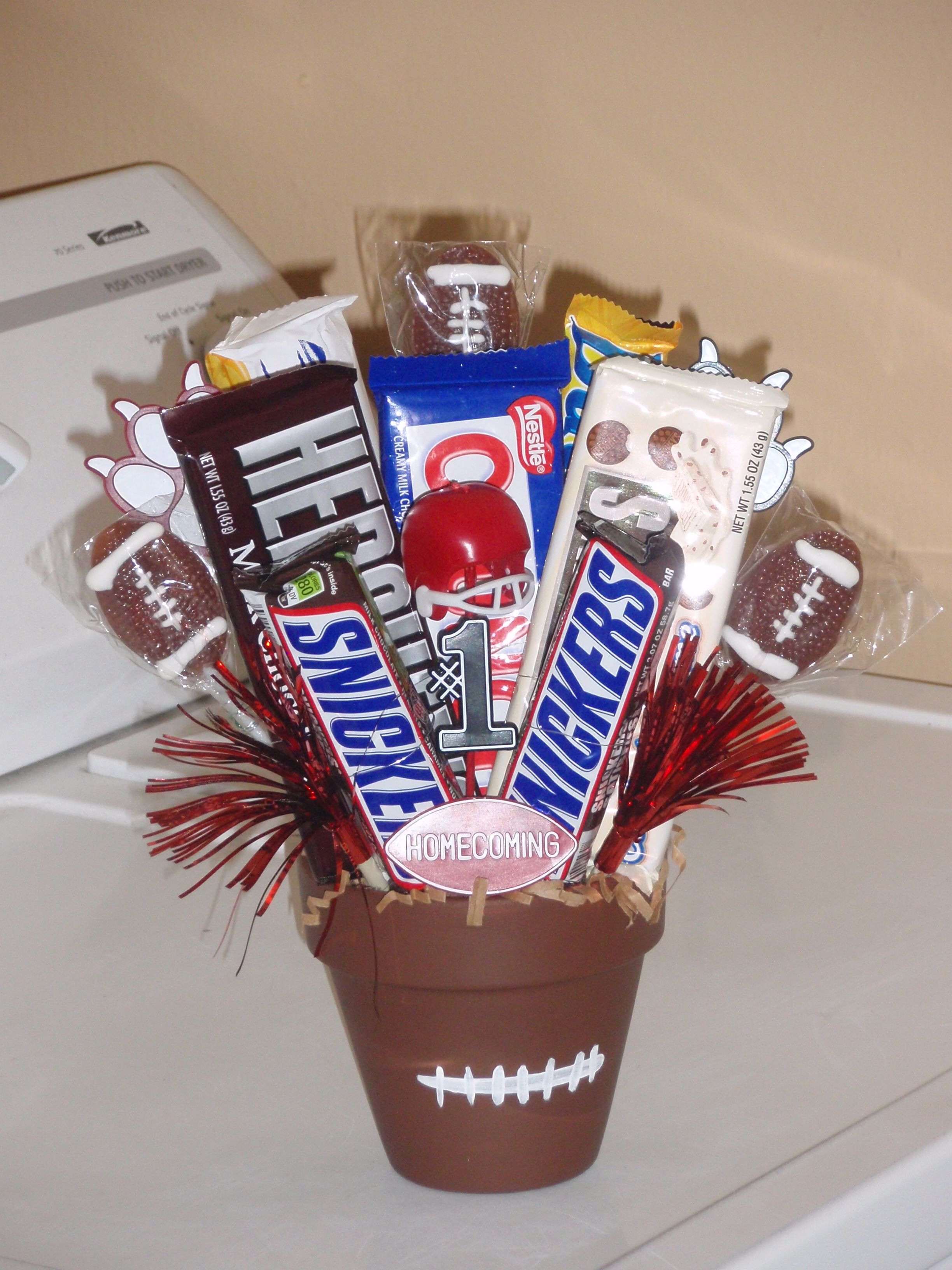 Best ideas about Youth Football Gift Ideas . Save or Pin Made this for a football player on Home ing Now.