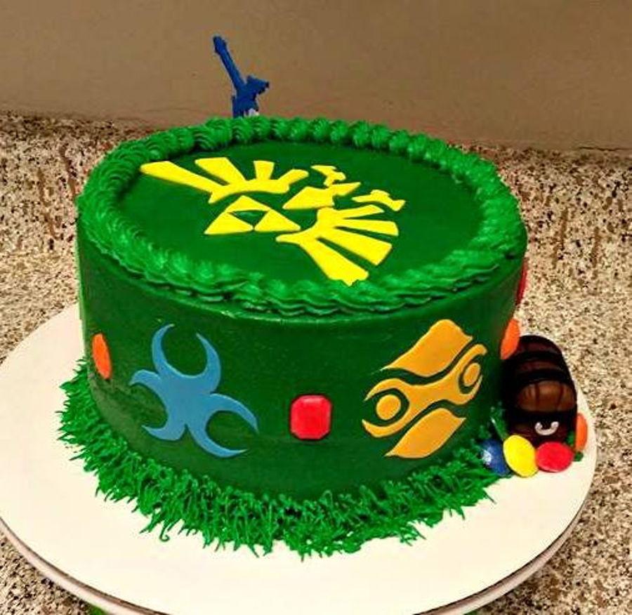 Best ideas about Zelda Birthday Cake . Save or Pin Zelda Birthday Cake CakeCentral Now.