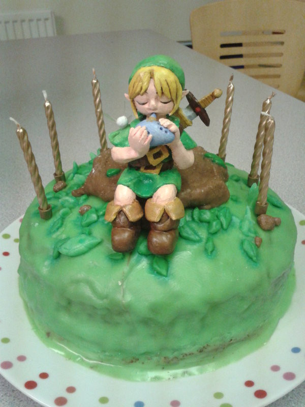 Best ideas about Zelda Birthday Cake . Save or Pin Best Game Tourney The Legend of Zelda Ocarina of Time vs Now.