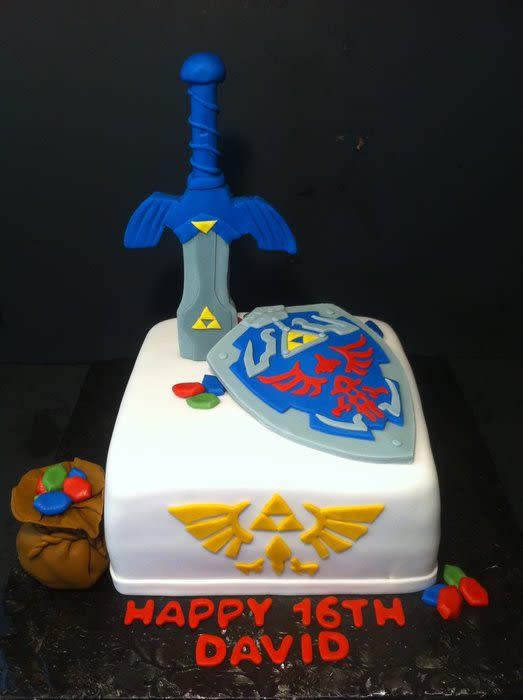 Best ideas about Zelda Birthday Cake . Save or Pin Legend of Zelda Cake cake by Nikki Belleperche CakesDecor Now.