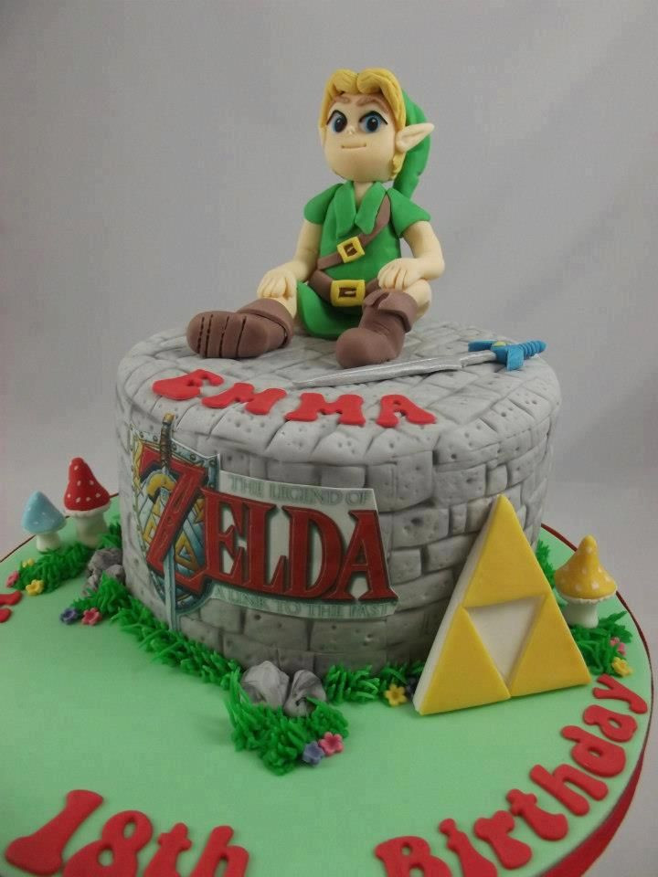 Best ideas about Zelda Birthday Cake . Save or Pin 10 Legend of Zelda Cakes for The Indulgent Eater Cool Now.