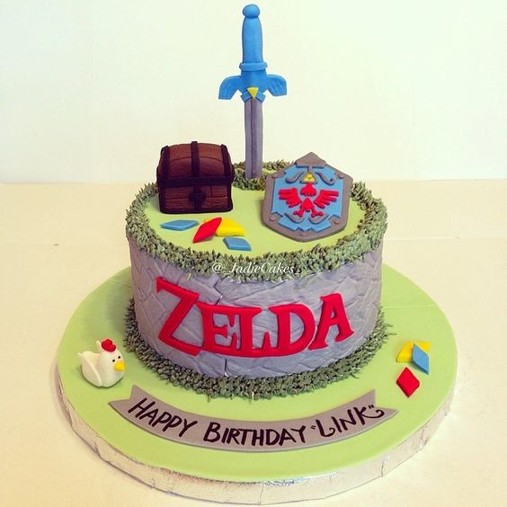 Best ideas about Zelda Birthday Cake . Save or Pin The legend of Zelda Cake Video Game Cake taken by Now.