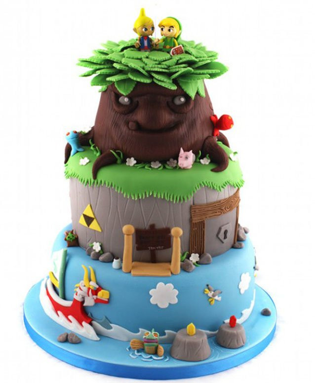 Best ideas about Zelda Birthday Cake . Save or Pin The Legend of Zelda Cakes Gamervescent Now.