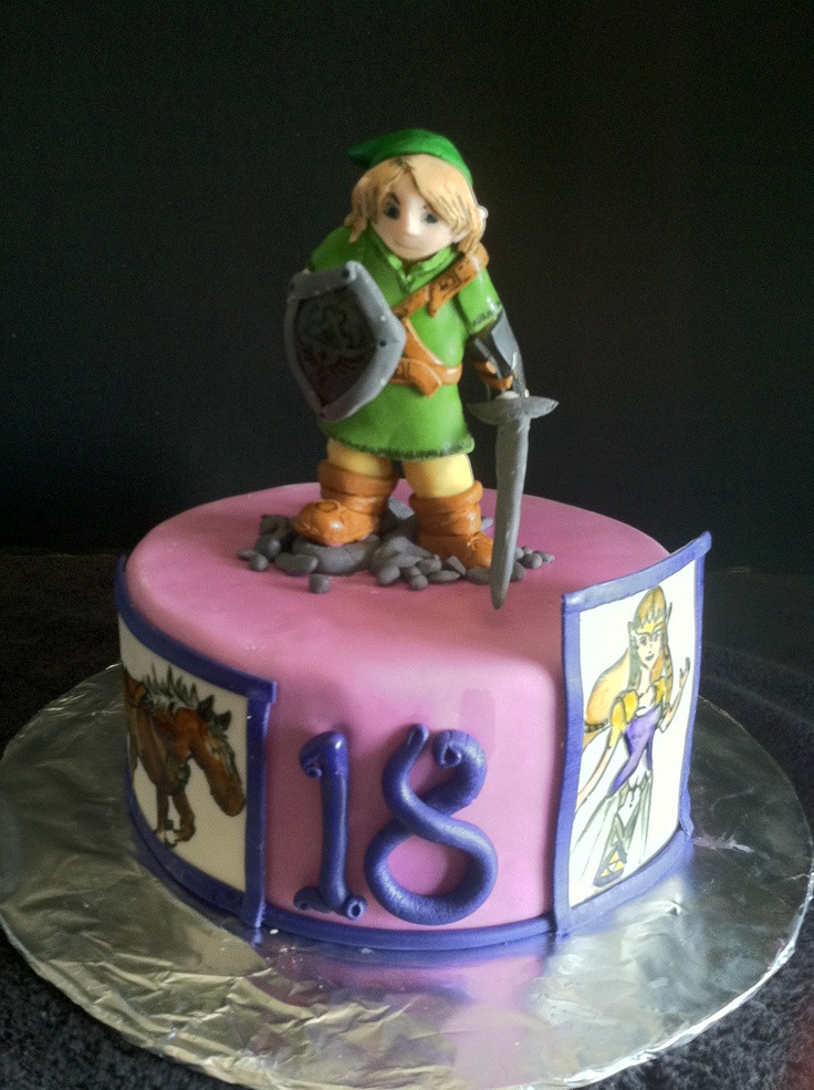 Best ideas about Zelda Birthday Cake . Save or Pin legend of Zelda cake ZELDA CAKES Pinterest Now.