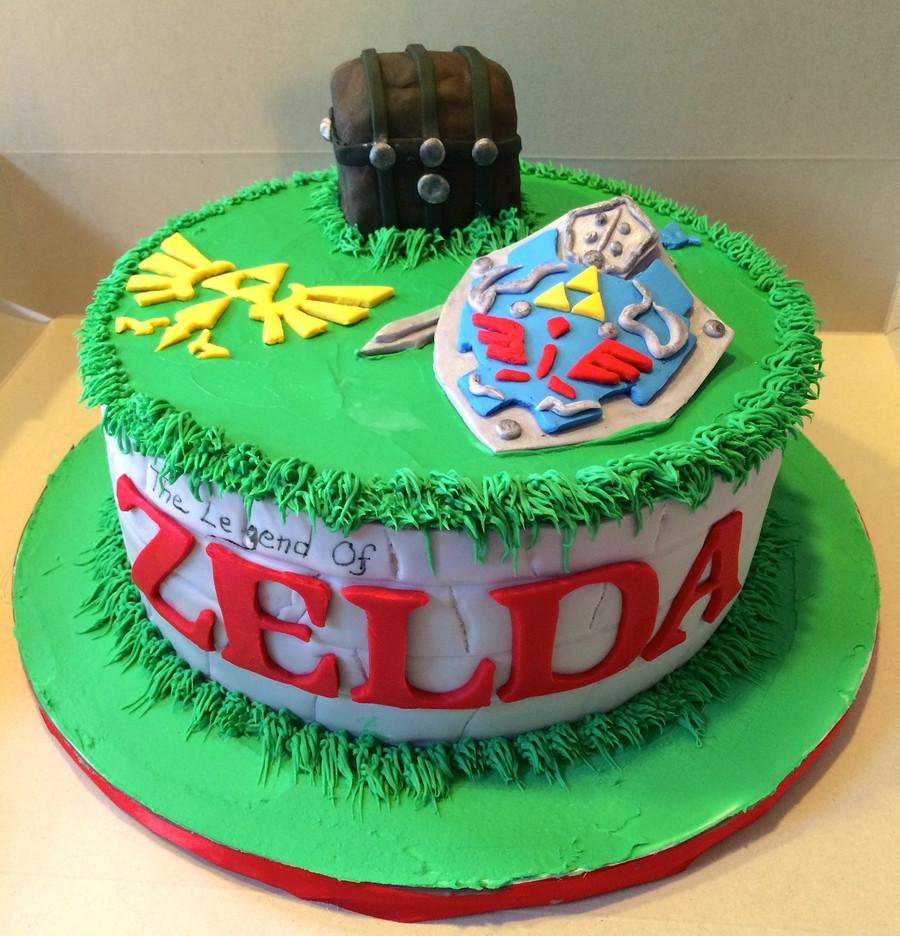 Best ideas about Zelda Birthday Cake . Save or Pin Legend Zelda Cake CakeCentral Now.