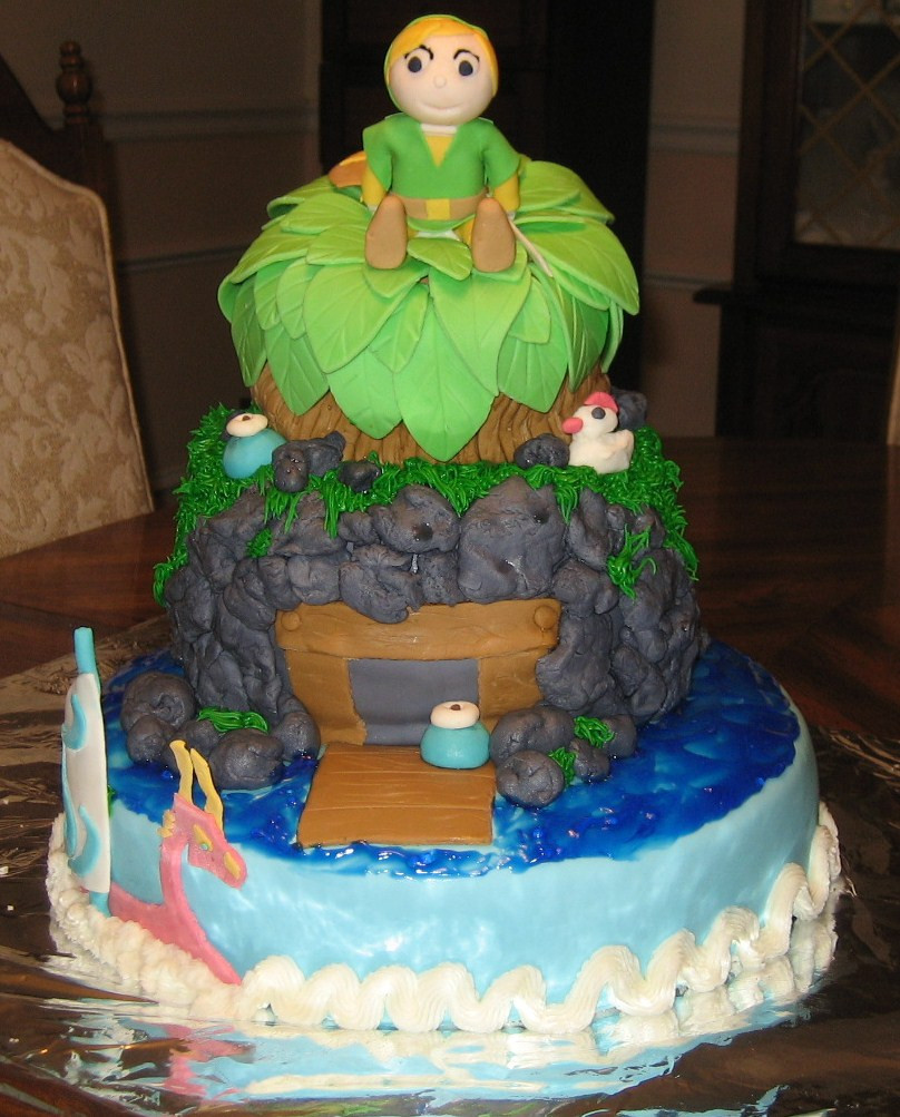 Best ideas about Zelda Birthday Cake . Save or Pin Pam and Nina s Crafty Cakes Legend of Zelda Cake Now.
