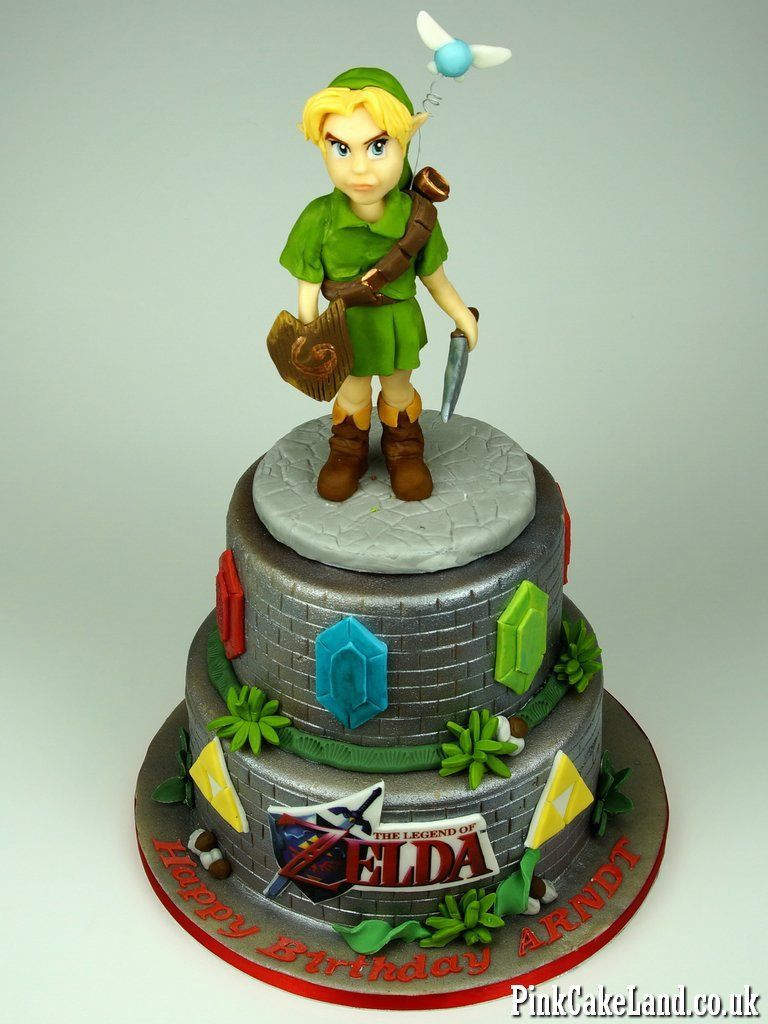 Best ideas about Zelda Birthday Cake . Save or Pin Pin by Gabriela Romero on Wedding Food and Cake in 2019 Now.