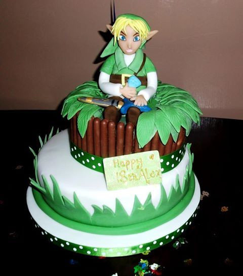 Best ideas about Zelda Birthday Cake . Save or Pin 24 best Kyle cake ideas images on Pinterest Now.